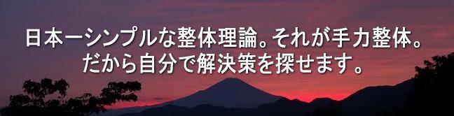 日本一シンプルな整体理論
