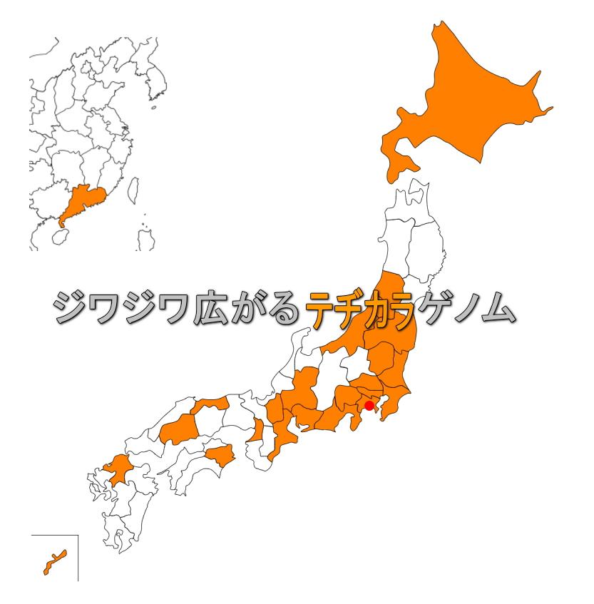 藤沢市湘南台の小さな教室から全国へ広がるテヂカラの遺伝子